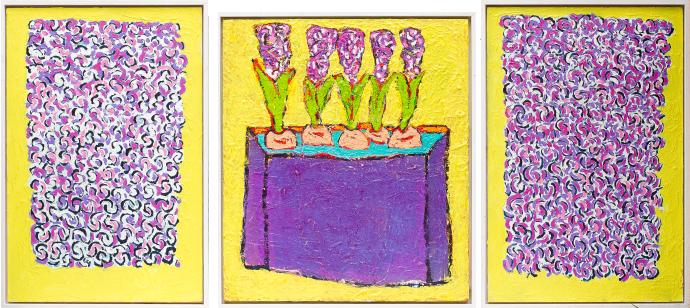 Hyacint (drieluik)