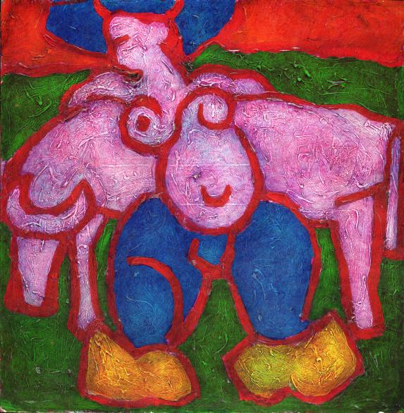 Koeienmeisje