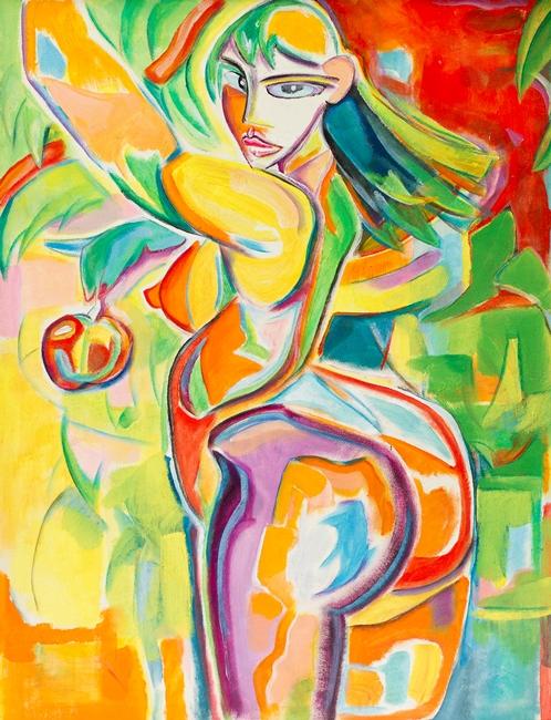 Eva met Appel
