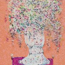 Bloemstilleven (roze)