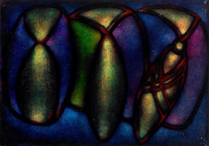 Drie Stropdassen als Vissen